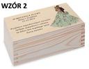 Prezent Rocznica Ślubu pudełko herbaciarka wzory Rodzaj gadżetu niezbędnik