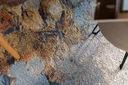 MIĘKKI DYWAN SOFT 160x220 KWIATY niebieski #AT2260 Waga produktu z opakowaniem jednostkowym 10 kg