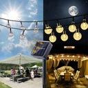 Lampki Solarne Ogrodowe Żarówka Lampa 50 LED 9.5 M Marka JL200001