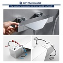 Prysznic Termostatyczny z Kranem Wannowym Kod producenta AYLA6031