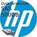 Dysk serwerowy Twardy HDD HP 500GB 6G SAS 2.5 f-v