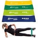 Zestaw fitness do ćwiczeń skakanka+taśmy oporowe Kod producenta HS-ZNR16