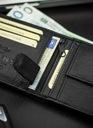 Skórzany portfel męski STEVENS skóra naturalna Kolor okuć srebrny