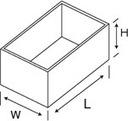 Obudowa aluminiowa 193,5x112,4x56,2mm 203-125c Pro Producent inny