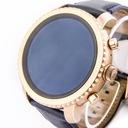 Zegarek smartwatch FOSSIL FTW4002 datownik Kolor granatowy złoty