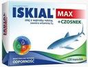 Iskial Max + Czosnek - 120 kapsułek