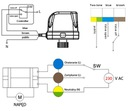 Elektrozawór kulowy 1/2 230 V DN15 silownik 230v 1 Średnica przyłącza 1/2''