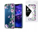 Stylowe Etui Przezroczyste do Huawei Mate 20 Lite