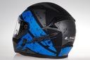 LS2 FF353 RAPID KASK MOTOCYKLOWY DEADBOLT BLUE Obwód głowy 57-58 cm