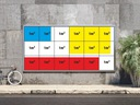 Baner reklamowy Banery reklamowe projekt plandeka Rodzaj drukowany pod wymiar