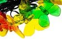 Lampki Ogrodowe SOLARNE LED GIRLANDA MOTYLKI EAN 5901508311672