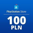 PLAYSTATION NETWORK 100 PLN PLN PSN КОД PS4 КЛЮЧ