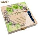 Pudełko na pieniądze banknoty prezent ślub wesele Marka inny