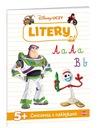 Disney Uczy Litery Ćwiczenia z Naklejkami 5+