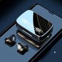SŁUCHAWKI BEZPRZEWODOWE WODOODPORNE Bluetooth V5.1 Kolor dominujący czarny