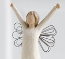 ангел мужество Courage серии Willow Tree