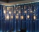 GWIAZDY WISZĄCE LAMPKI CHOINKOWE KURTYNA LED EAN 5903900386036