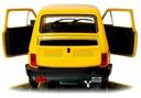 FIAT 126p Duży MALUCH Samochód PRL Auto Welly 1:21 EAN 4891761240660