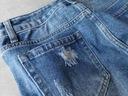 SPODENKI WYSOKI STAN JEANS KRÓTKIE SZORTY L M XS S Rodzaj jeansowe