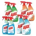 AJAX SUPER zestaw do czyszczenia domu spray 8 szt