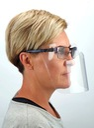 MINI PRZYŁBICA NA OKULARY - maska na nos i usta Wysokość 15 cm