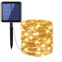 Girlandy Lampki Ogrodowe Solarne LED 200 szt 20m