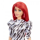 Barbie Fashionistas Modna przyjaciółka 168 zebra Bohater Barbie