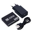 SPLITTER HDMI 1x2 ROZDZIELACZ 4K*2K ULTRA HD 4K Złącza HDMI - HDMI