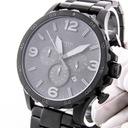 Zegarek męski FOSSIL JR1401 Chronograf Czarny Funkcje Chronograf Datownik