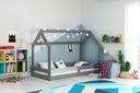 Łóżko dziecięce Domek1 stelaż materac od INTERBEDS Kolekcja parterowe
