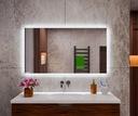 Podświetlane lustro łazienkowe 120x60 LED TUNISIA Producent MEGADO