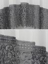 PROSTA FIRANA GOTOWA WOAL GIPIURA 400x170 KORONKA Wysokość 170 cm