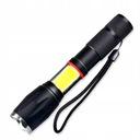 LATARKA ZASIĘG 1km 2X LED U3 COB 9W super mocna Rodzaj wielofunkcyjne