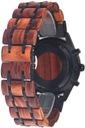 Zegarek męski drewniany Giacomo Design GD481 NEW! Styl klasyczny