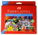 Карандаши, точилки для карандашей  -CASTELL Eco 60 цветов замок