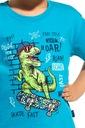 Piżama chłopięca Cornette krótki rękaw wzorzysta Płeć Chłopcy