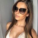 Z114 Okulary Damskie Kocie Oko Eleganckie Czarne Płeć Produkt damski