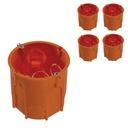 Puszka Elektryczna Podtynkowa PK60 Głęboka 5 sztuk