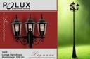Lampa ogrodowa parkowa stojąca latarnia 3xE27 2,5m Liczba punktów światła 3