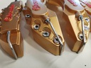 Nakładki 3D na zaciski hamulce BREMBO L+M - Złote EAN 6931190741715