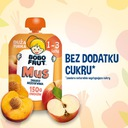 BOBO FRUT mus w tubce jabłko brzoskwinia 7x150g EAN 7613287292735