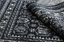 DYWAN VINTAGE 120x170 ORNAMENT czarny krem #B846 Szerokość 120 cm