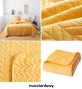 Narzuta na łóżko 200x220 velvet pikowana welur Kod produktu - DESIGNERSKA - MOXIE - KAPA - KOC - DWUSTRONNA -