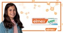 elmex JUNIOR pasta do zębów dzieci 6-12 lat 2x75ml Cechy dodatkowe mocno miętowa