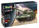REVELL 03306 T-55AM 1:72 НАБОР МОДЕЛИСТА доставка товаров из Польши и Allegro на русском