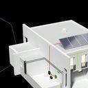 MPPT Regulator kontroler solarny 12V/24V/48V 30A Waga produktu z opakowaniem jednostkowym 2.5 kg