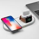 Ładowarka Qi HOCO 3w1 Apple iPhone Watch AirPods Marka Hoco