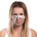 POLSKA MINI PRZYŁBICA SKÓRZANA FILC VIP NOS USTA M Model mini-shield-maska-maseczka-ochronna