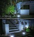 16x świecąca kostka LED BRUK akropol RGBWZ LedBruk Waga (z opakowaniem) 20 kg