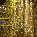 200 LED Girlandy Lampki Ogrodowe Solarne Wysoki 2m Cechy dodatkowe wodoodporność zasilanie energią słoneczną